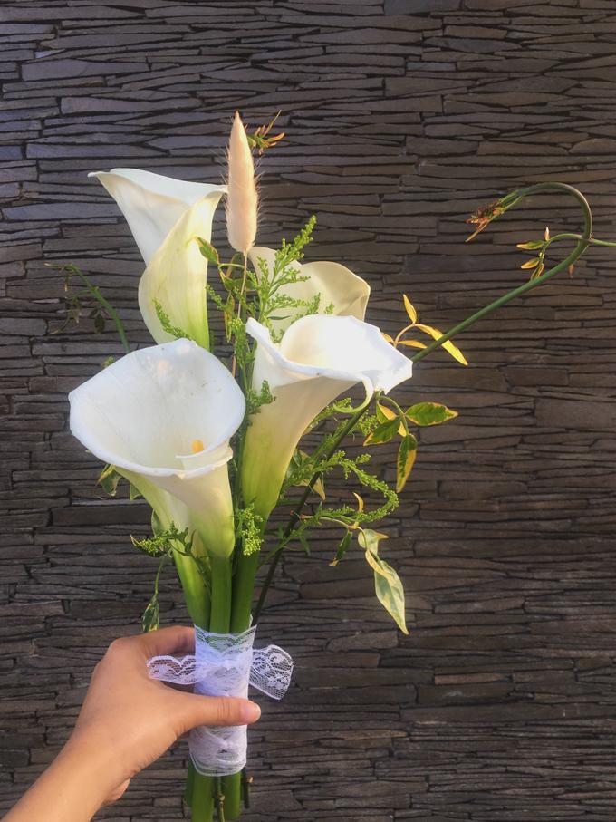 Calla Lily Bouquet Korean Style Wedding Bouquet by Beyond by Brigita - 001