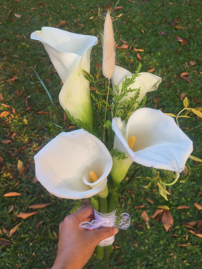 Calla Lily Bouquet Korean Style Wedding Bouquet by Beyond by Brigita - 002