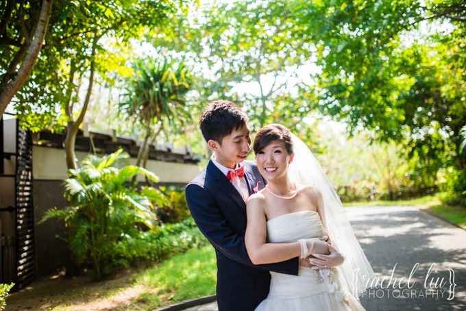 ASHLEY & MICHAEL WEDDING by Banyan Tree Ungasan Resort - 028