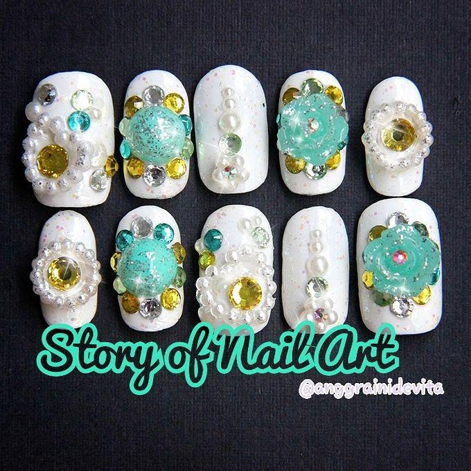 Fake Nails by Story of Nailart - 016
