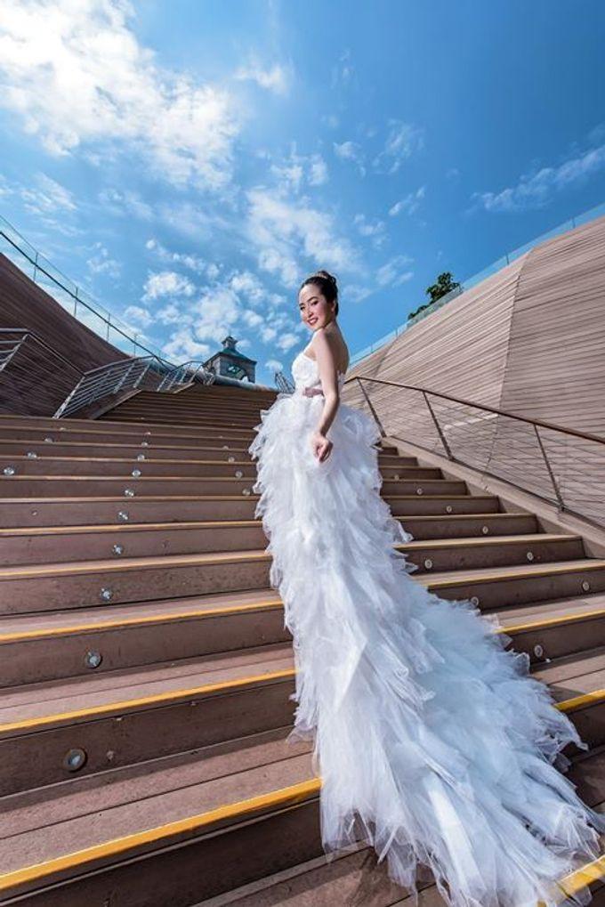 Natural Korean Bridal Look by Beautistylebykoreen - 011