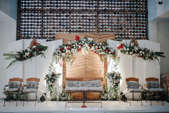The Wedding of Bella & Syawal di Amana Venue by Decor Everywhere - 001