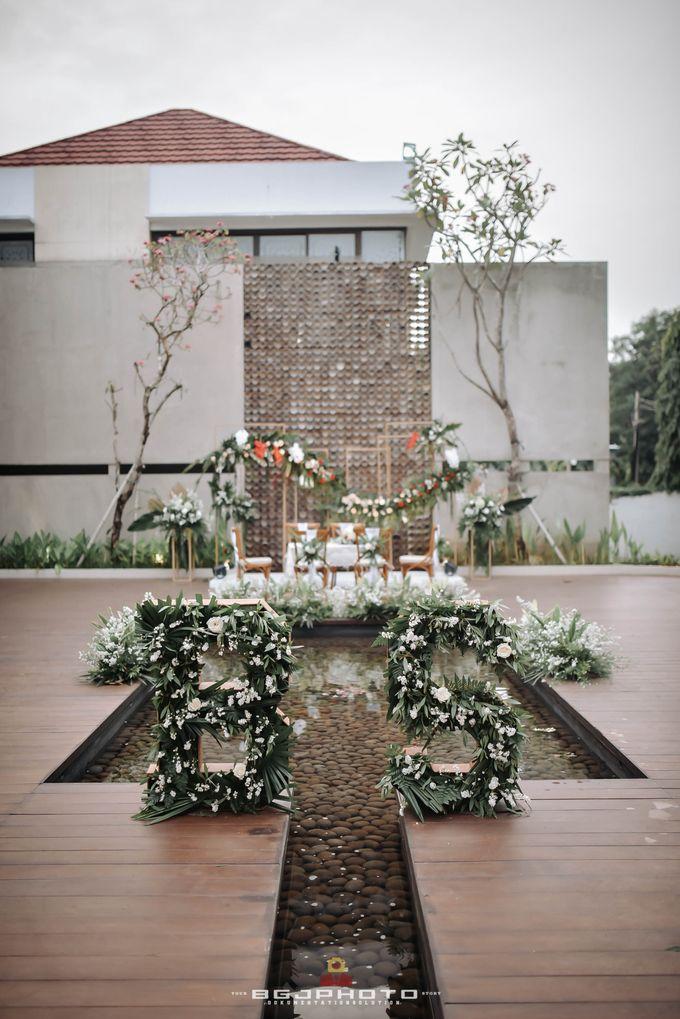The Wedding of Bella & Syawal di Amana Venue by Decor Everywhere - 014