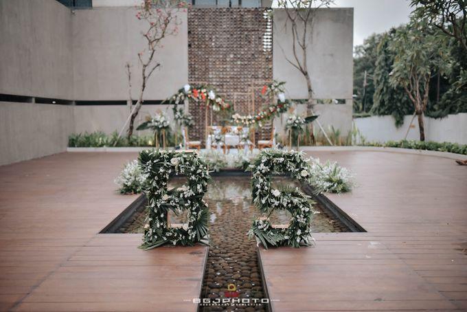 The Wedding of Bella & Syawal di Amana Venue by Decor Everywhere - 015