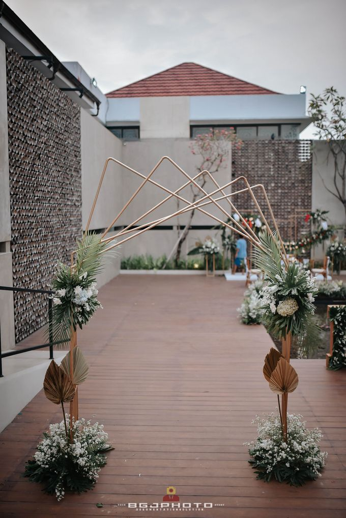 The Wedding of Bella & Syawal di Amana Venue by Decor Everywhere - 016
