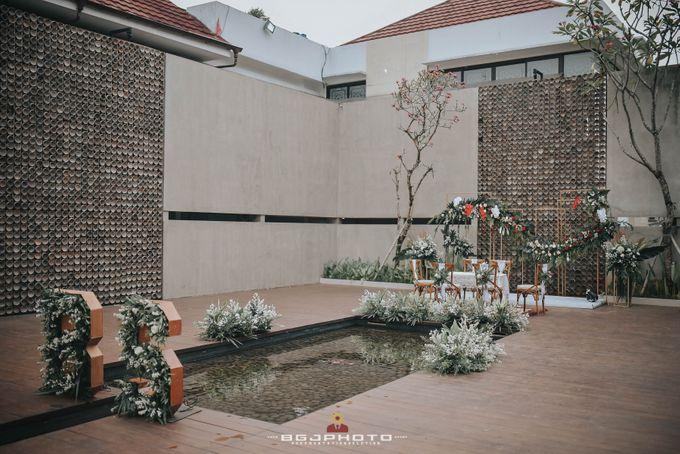 The Wedding of Bella & Syawal di Amana Venue by Decor Everywhere - 017