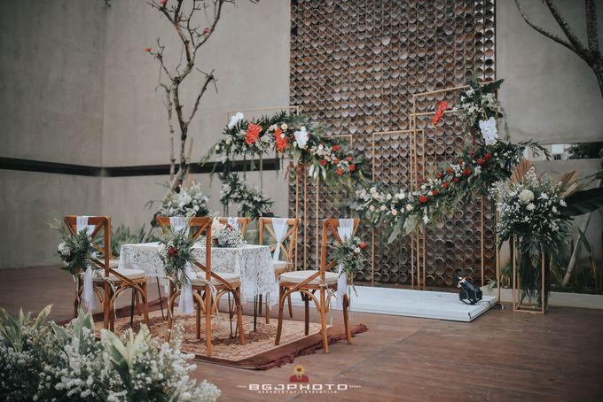 The Wedding of Bella & Syawal di Amana Venue by Decor Everywhere - 018