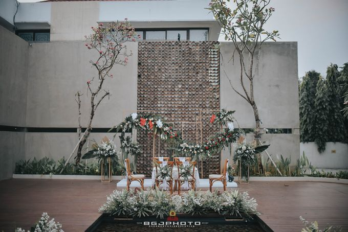 The Wedding of Bella & Syawal di Amana Venue by Decor Everywhere - 019
