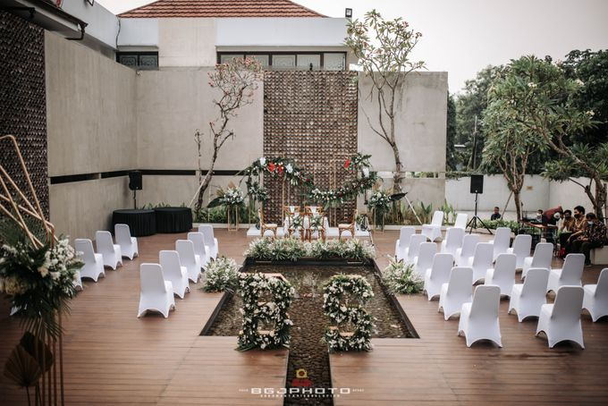 The Wedding of Bella & Syawal di Amana Venue by Decor Everywhere - 020