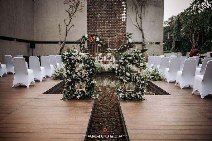The Wedding of Bella & Syawal di Amana Venue by Decor Everywhere - 021
