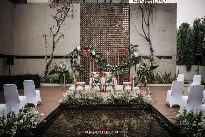 The Wedding of Bella & Syawal di Amana Venue by Decor Everywhere - 022