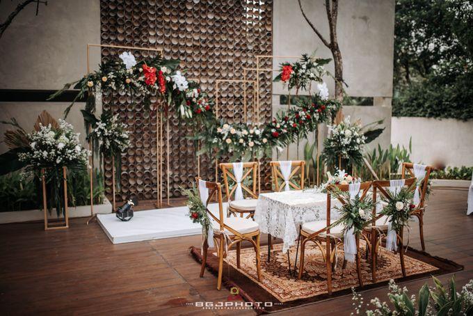 The Wedding of Bella & Syawal di Amana Venue by Decor Everywhere - 023