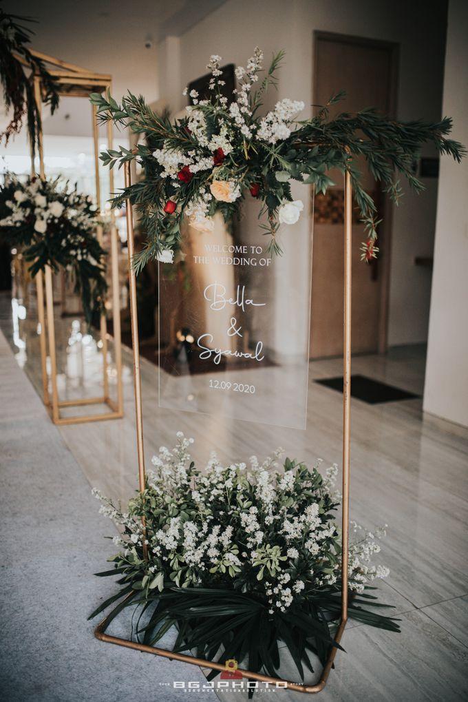 The Wedding of Bella & Syawal di Amana Venue by Decor Everywhere - 025