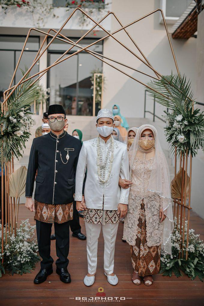 The Wedding of Bella & Syawal di Amana Venue by Decor Everywhere - 027