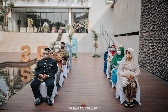 The Wedding of Bella & Syawal di Amana Venue by Decor Everywhere - 028