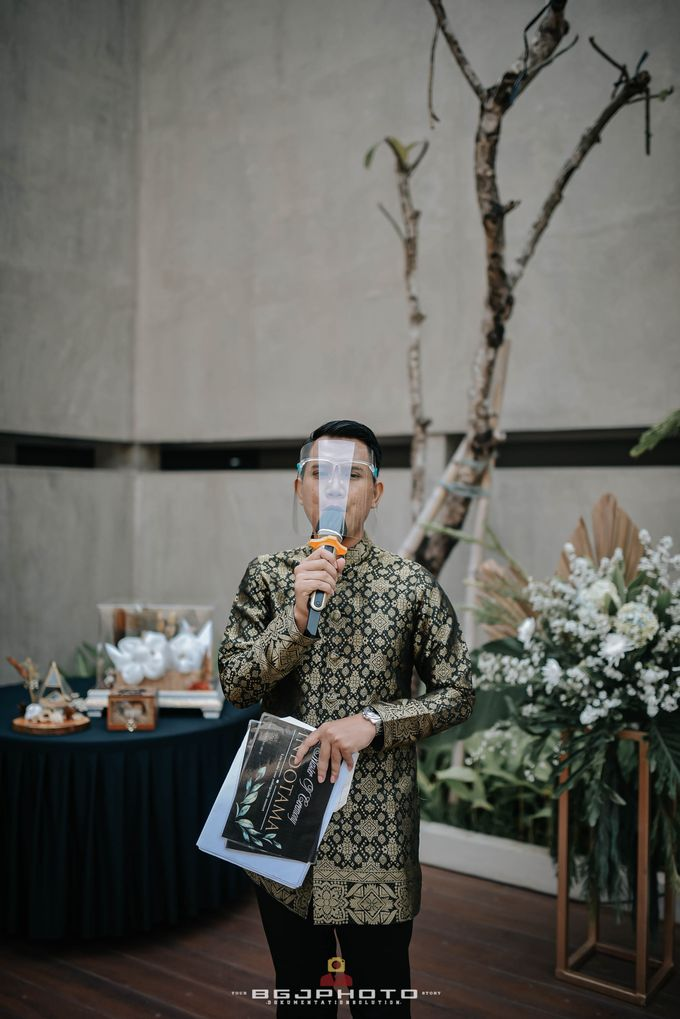 The Wedding of Bella & Syawal di Amana Venue by Decor Everywhere - 029