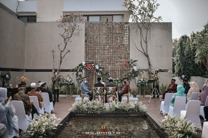 The Wedding of Bella & Syawal di Amana Venue by Decor Everywhere - 031