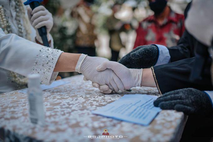The Wedding of Bella & Syawal di Amana Venue by Decor Everywhere - 032