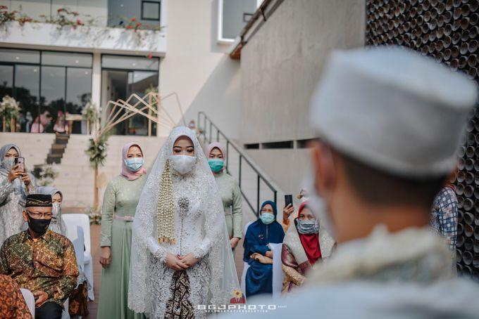 The Wedding of Bella & Syawal di Amana Venue by Decor Everywhere - 033