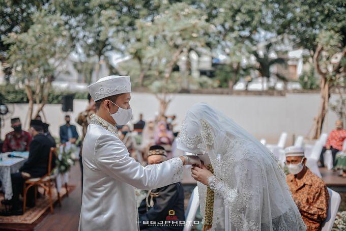 The Wedding of Bella & Syawal di Amana Venue by Decor Everywhere - 034