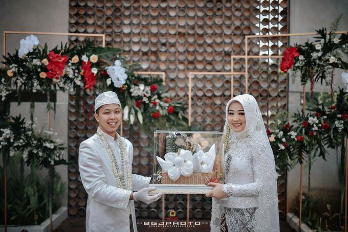 The Wedding of Bella & Syawal di Amana Venue by Decor Everywhere - 035