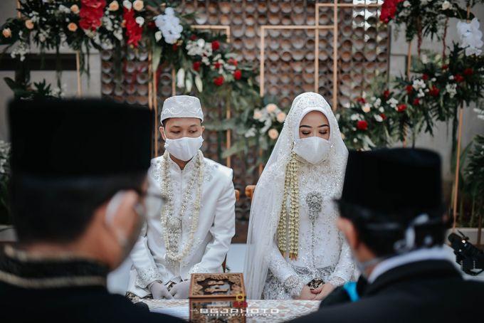 The Wedding of Bella & Syawal di Amana Venue by Decor Everywhere - 036