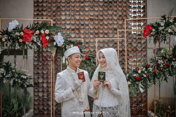 The Wedding of Bella & Syawal di Amana Venue by Decor Everywhere - 037
