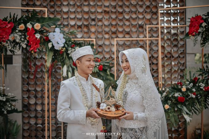 The Wedding of Bella & Syawal di Amana Venue by Decor Everywhere - 038