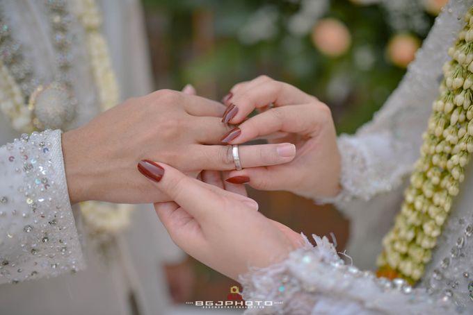 The Wedding of Bella & Syawal di Amana Venue by Decor Everywhere - 039