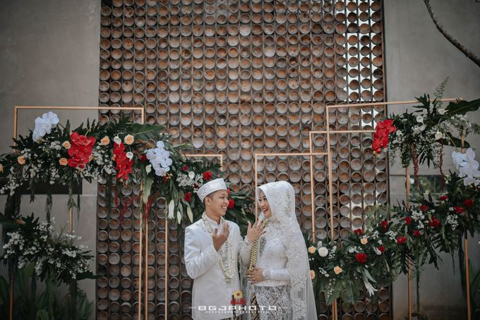 The Wedding of Bella & Syawal di Amana Venue by Decor Everywhere - 040