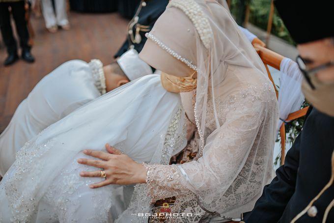 The Wedding of Bella & Syawal di Amana Venue by Decor Everywhere - 041