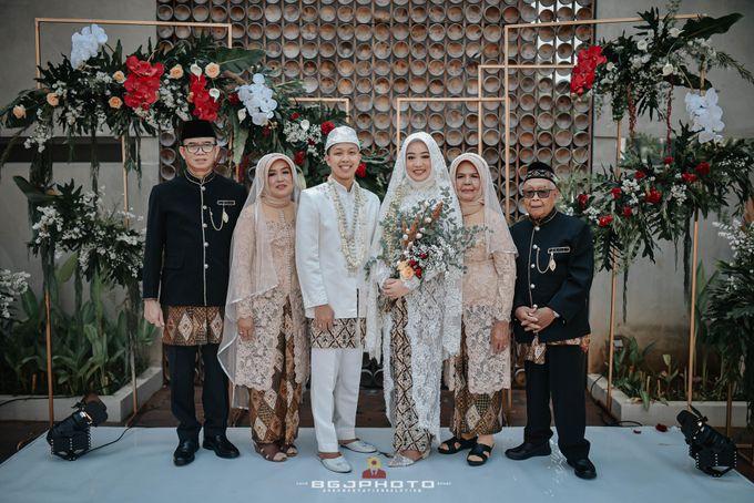 The Wedding of Bella & Syawal di Amana Venue by Decor Everywhere - 042