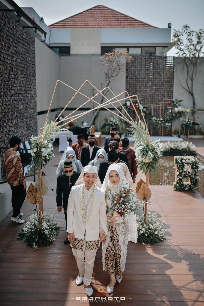 The Wedding of Bella & Syawal di Amana Venue by Decor Everywhere - 043