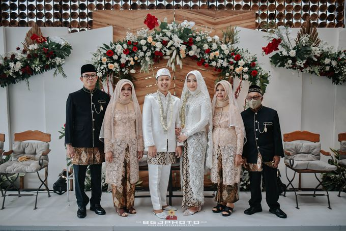 The Wedding of Bella & Syawal di Amana Venue by Decor Everywhere - 044