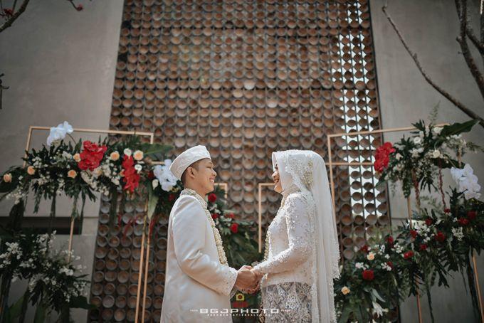 The Wedding of Bella & Syawal di Amana Venue by Decor Everywhere - 046