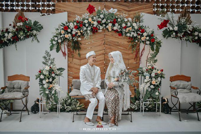 The Wedding of Bella & Syawal di Amana Venue by Decor Everywhere - 049