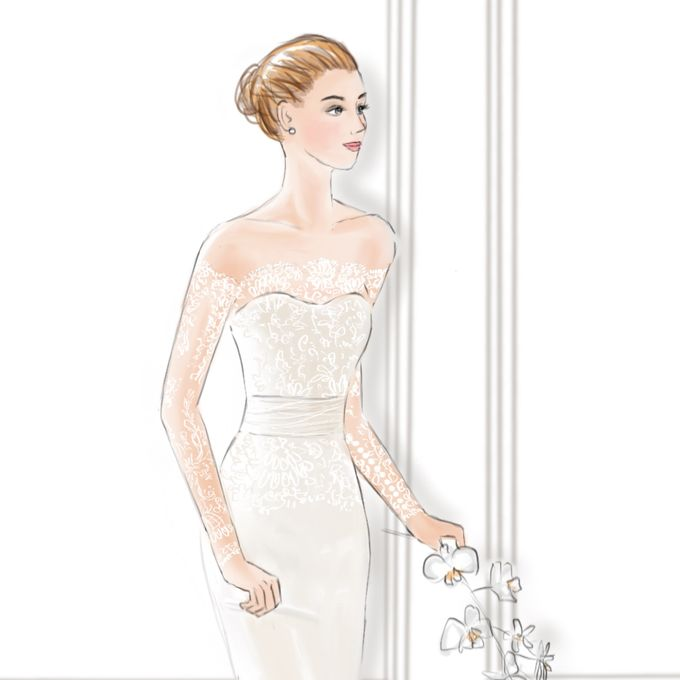 Bridal Illustrations by Draw A Story - 001