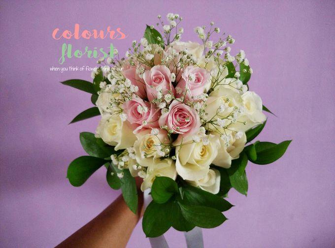 Wedding Hand Bouquet by Colours Florist - 005