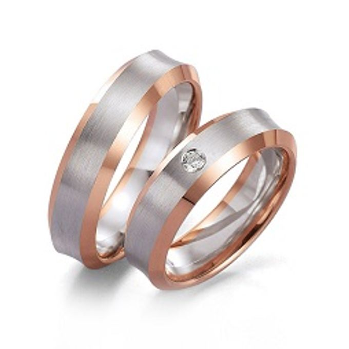 wedding ring simple Design by V&Co Jewellery - 001