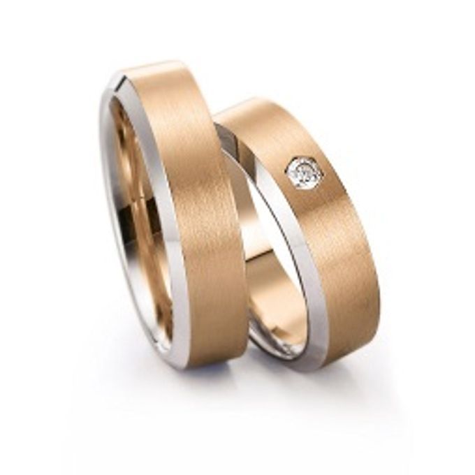 wedding ring simple Design by V&Co Jewellery - 002