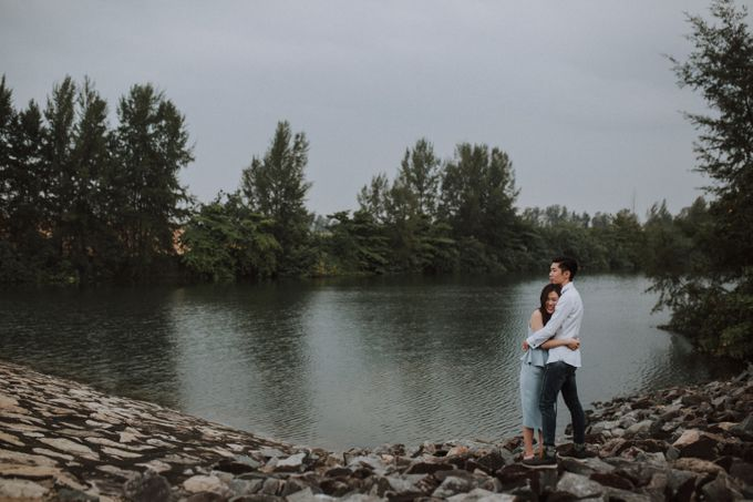 Bill & Alexa Engagement Photoshoot by withonemustardseed - 004