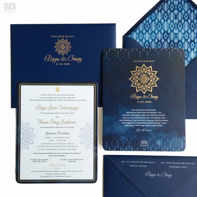 Bayu & Imay by Gracia The Invitation - 001