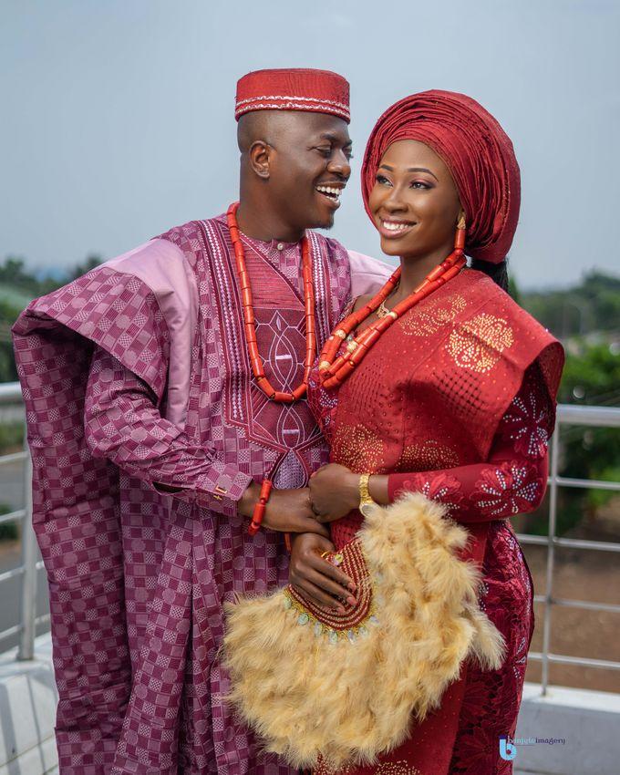 Oluwatosin and Oluwatoyosi Nigerian wedding highlights by Rayhouse Studios - 002