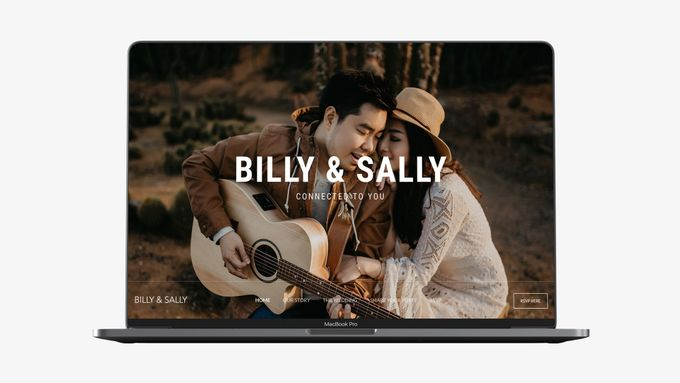 Wedding Website - Billy Simpson and Sally Santoso by Our Days & Co - Wedding Website Design - 002