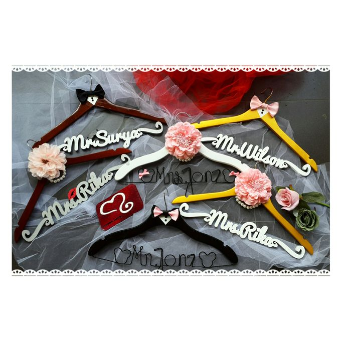 Wedding Hanger Name by Sweetlovecollection - 026