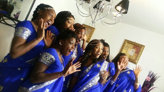 King  Blue And Gold by Kamy Wedding - 006