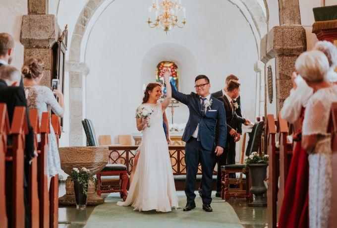 Margrethe & Marius wedding by Vegard Giskehaug Photography - 015