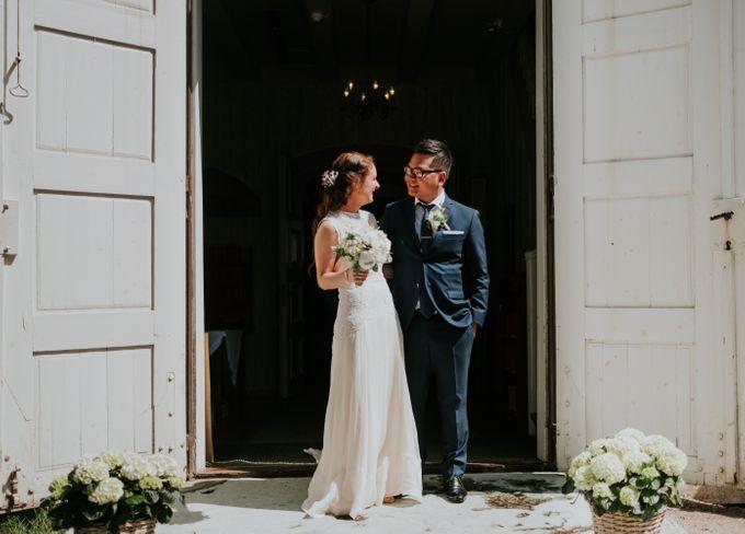 Margrethe & Marius wedding by Vegard Giskehaug Photography - 018