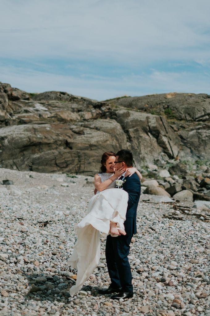 Margrethe & Marius wedding by Vegard Giskehaug Photography - 028