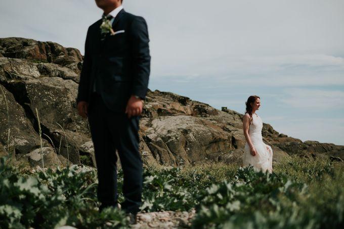 Margrethe & Marius wedding by Vegard Giskehaug Photography - 032